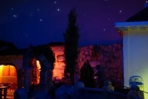 Cielo stellato sul Cimitero